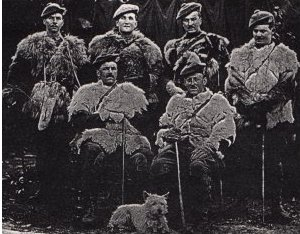 Officers in Sheepskins